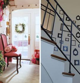 Boas sugestões para decorar escadas