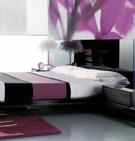 decora%C3%A7%C3%A3o roxo 81752 270x280 Decoração de quartos com roxo