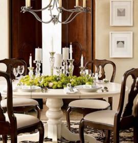 Como decorar a mesa da sala de jantar