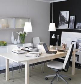 Decoração de um escritório em casa