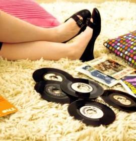 Limpeza de tapetes e carpetes de fibras sintéticas