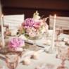 Decoração de casamento com rosa
