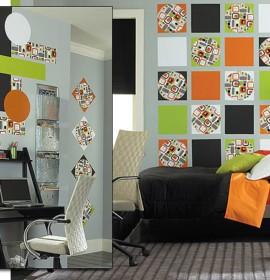 Decoração para as paredes do apartamento