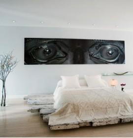 Ideias de decoração para um quarto de casal moderno