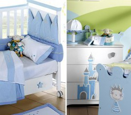 Sugestões para a decoração do quarto do seu bebé