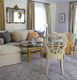 Carpetes e tapetes cinza