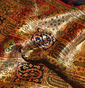 Tapetes persa: feitos à mão ou por máquina