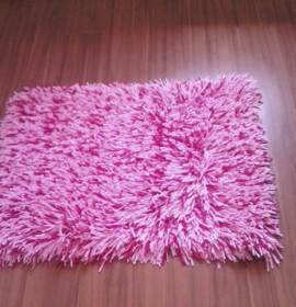 Como fazer um tapete de lã em tela de Esmirna