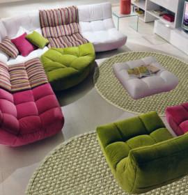 Tapetes e carpetes de fibras naturais